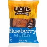 Udis Gluten Free Blueberry Muffin, 3 Ounce -- 36 per case.