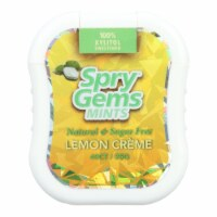 Spry Xylitol Gems - Lemon - Case of 6 - 40 Count - Case of 6 - 40 CT each