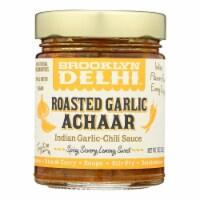 Brooklyn Delhi - Roasted Garlic Achaar Chili Sauce - Case of 6 - 9 oz - Case of 6 - 9 OZ each