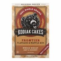 Kodiak Cakes Flapjack and Waffle Mix - Whole Wheat Oat and Honey - Case of 6 - 24 oz. - Case of 6 - 24 OZ each