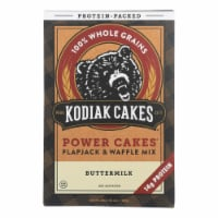 Kodiak Cakes Power Cakes Flapjack & Waffle Mix - Case of 6 - 20 OZ - Case of 6 - 20 OZ each