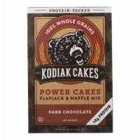 Kodiak Cakes Power Cakes Dark Chocolate Flapjack And Waffle Mix  - Case of 6 - 18 OZ
