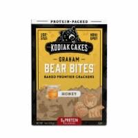 Kodiak Cakes Protein Packed Bear Bites Graham Crackers Honey 9oz  PK 6