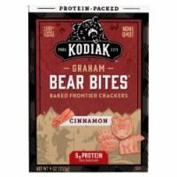 Kodiak Cakes Protein Packed Bear Bites Graham Crackers Cinnamon 9oz  PK 6