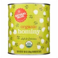 Natural Value - Hominy - Case of 6 - 108 OZ