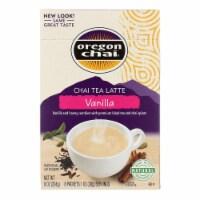 Oregon Chai Chai Tea Latte Mix - Vanilla - Powedered - 8 count - case of 6 - Case of 6 - 8 CT each