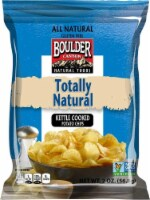 Boulder Canyon Totally Natural Kettle Cooked Potato Chips - 2 oz. bag, 8 per case