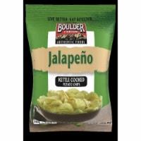 Boulder Canyon Jalapeno Kettle Cooked Potato Chips, 2 Ounce -- 8 per case. - 8-2 OUNCE