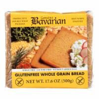 Genuine Bavarian Organic Bread - Whole Grain - Case of 6 - 17.6 oz. - Case of 6 - 17.6 OZ each