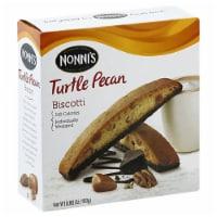 Nonni's Turtle Pe Biscotti 6.88 oz (Pack of 06) - 12