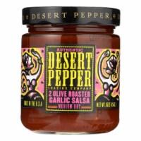 Desert Pepper Trading - Salsa - Two Olive Roasted Garlic - Case of 6 - 16 oz. - Case of 6 - 16 OZ each