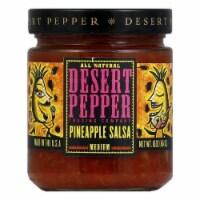 Desert Pepper Pineapple Salsa - Medium Hot, 16 OZ (Pack of 6) - 6