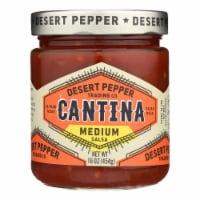 Desert Pepper Trading - Cantina Salsa - Medium Red - Case of 6 - 16 oz - Case of 6 - 16 OZ each