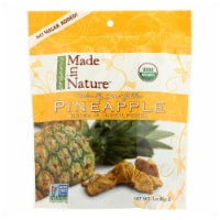 Made In Nature Golden Pineapple Organic Dried Fruit  - Case of 6 - 3 OZ