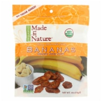 Made In Nature Bananas - Organic - Dried - Case of 6 - 4 oz - Case of 6 - 4 OZ each