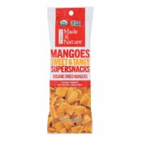 Made In Nature Organic Mangoes Sweet & Tangy Supersnacks  - Case of 10 - 1 OZ