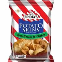 TGI Fridays, Potato Skins Sour Cream & Onion, 3.0 oz. BIG bag (6 count) - 6-3 OUNCE