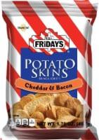 TGI Fridays, Potato Skins Cheddar & Bacon, 1.75 oz. Bag, (55 count) - 55-1.75 OUNCE