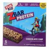 Clif Kid Zbar Organic Kid Zbar Protein - Chocolate Chip - Case of 6 - 1.27 oz.