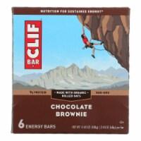 Clif Bar - Energy Bar - Chocolate Brownie - Case of 6 - 6/2.4 oz. - Case of 6 - 6/2.4 OZ each