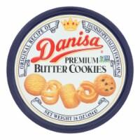 Danisa Cookies - Butter Cookies - Case of 12 - 16 oz. - 16 OZ