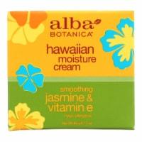 Alba Botanica - Hawaiian Moisture Cream Jasmine and Vitamin E - 3 oz