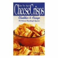Macys Cheese Crisps Cheddar Asiago, 4OZ (Pack of 8) - 8