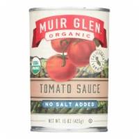 Muir Glen Tomato Sauce No Salt Added - Tomato - Case of 12 - 15 Fl oz. - 15 FZ