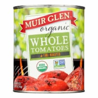 Muir Glen Fire Roasted Whole Tomatoes - Tomatoes - Case of 12 - 28 oz. - 28 OZ