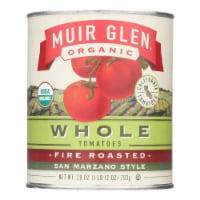 Muir Glen Fire Roasted Whole Tomatoes - Tomato - Case of 6 - 28 oz. - 28 OZ