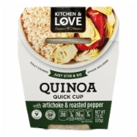 Cucina and Amore - Quinoa Meals - Artichoke and Roasted Pepper - Case of 6 - 7.9 oz.