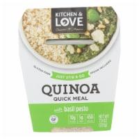 Cucina and Amore - Quinoa Meals - Basil Pesto - Case of 6 - 7.9 oz. - Case of 6 - 7.9 OZ each