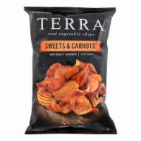 Terra Chips Sweet Potato Chips - Sweets and Carrots - Case of 12 - 6 oz. - 6 OZ