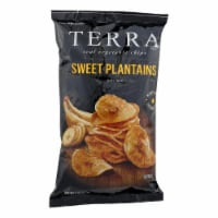 Terra Chips Veggie Chips - Sweet Plantains - Case of 12 - 5 oz - Case of 12 - 5 OZ each