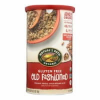 Nature's Path Organic Oats - Old Fashioned - Case of 6 - 18 oz. - Case of 6 - 18 OZ each