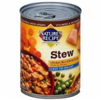 Nature's Recipe Easy to Digest Chicken Stew Wet Dog Food Case