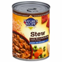 Nature's Recipe Easy to Digest Lamb Stew Wet Dog Food Case - 12 ct / 13.2 oz