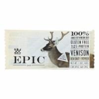 Epic - Bar - Venison - Sea Salt - Pepper - Case of 12 - 1.5 oz