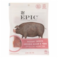 Epic - Jerky Bites - Hickory Smoked Uncured Bacon and Pork Bites - Case of 8 - 2.5 oz.