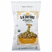 G.H Cretors  Organic Popcorn Salted Butter, 4oz (Pack of 12)