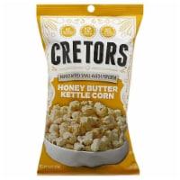 G.H Cretors Popcorn Honey Butter Kettle Corn , 7.5oz (Pack of 12) - 12