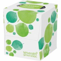 Seventh Generation Recycled Facial Tissue - Cube - Case of 36 - 85 Count - 85 CT