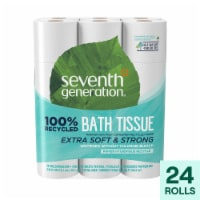 Seventh Generation - Bath Tissue 2 Ply 240 Ct - Case of 2 - 24 CT - 24 CT