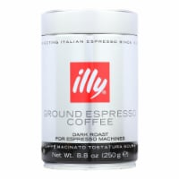 Illy Caffe Coffee Coffee - Espresso - Ground - Dark Roast - 8.8 oz - case of 6 - Case of 6 - 8.8 OZ each