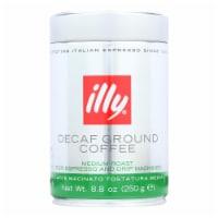 Illy Caffe Coffee Coffee Espresso and Drip Ground Medium Roast - Decaf - 8.8 oz - case of 6