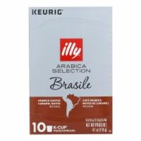 Illy Caffe Coffee - K-cup Braz Arabica Select - Case of 6 - 4.103 OZ - Case of 6 - 4.103 OZ each