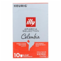 Illy Caffe Coffee - K-cup Colo Arabica Select - Case of 6 - 4.103 OZ - Case of 6 - 4.103 OZ each