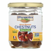 La Forestiere's Whole Roasted Chestnuts  - Case of 12 - 7.4 OZ