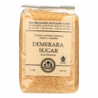 India Tree Gourmet Spices & Specialties Demerara Sugar  - Case of 6 - 16 OZ - Case of 6 - 16 OZ each