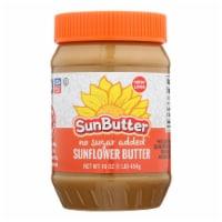 Sunbutter Sunflower Butter - No Sugar Added - Case of 6 - 16 oz. - Case of 6 - 16 OZ each
